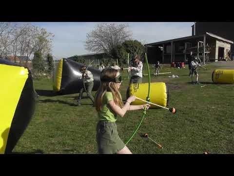 Archery tag voor kinderen - kinder pijl en boog