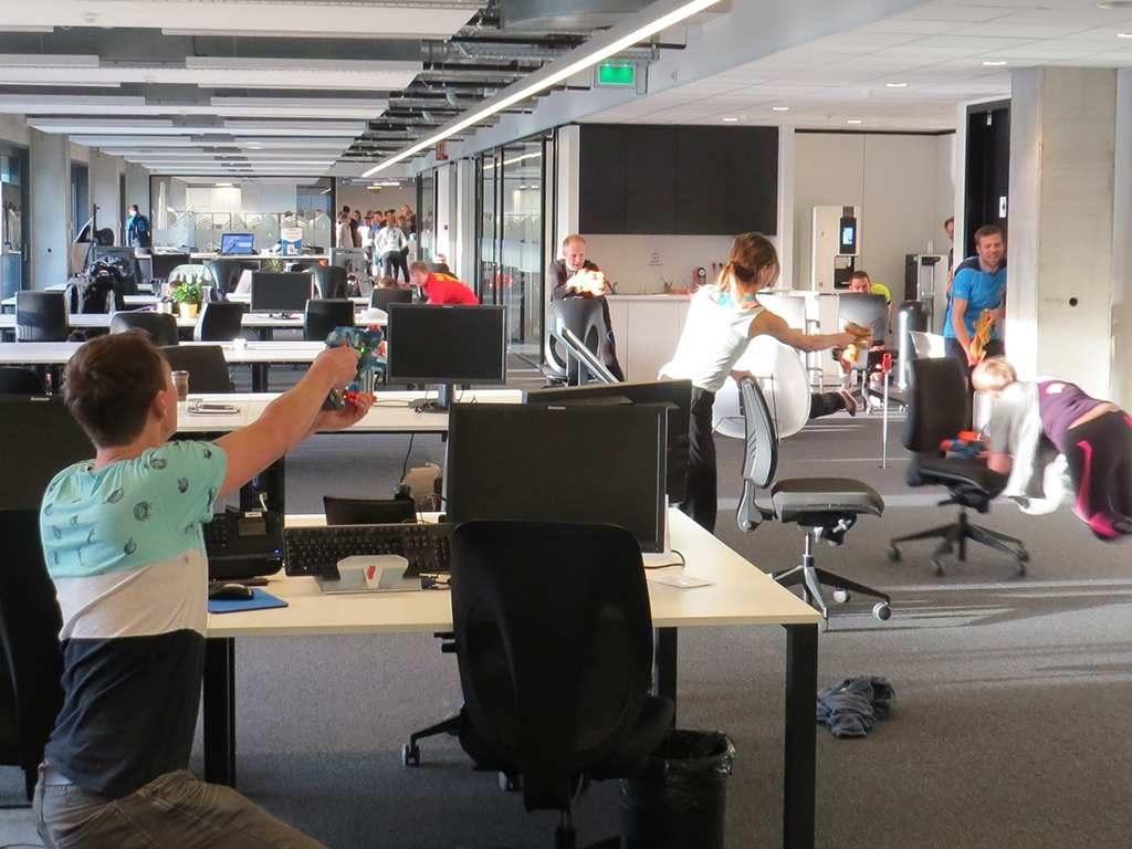 teambuilding op het werk