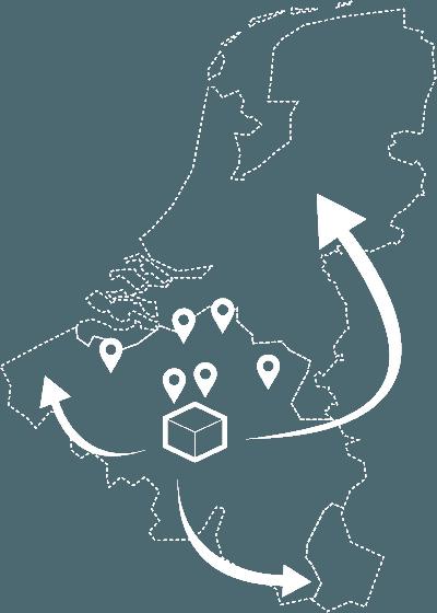 Levering in België en Nederland