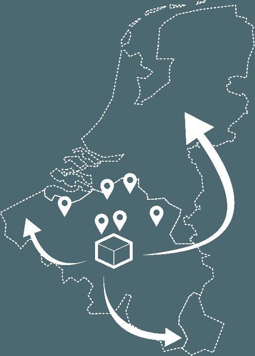 Lasershooting in België, Nederland en Luxemburg