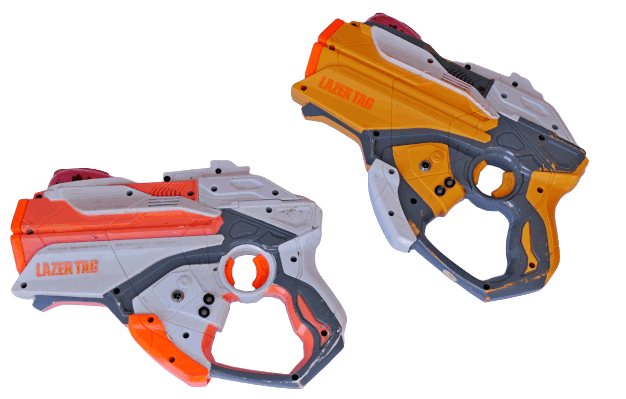 Hasbro LTAR laserguns