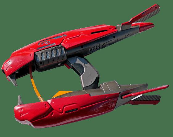 Jasman  Halo 3 Covenant Plasma Rifle lasergun