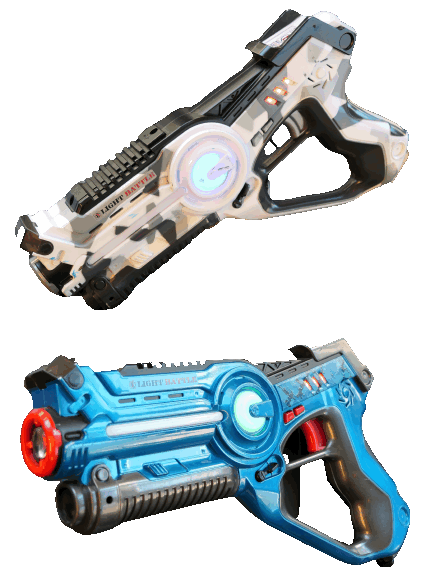 Lightbattle active laserguns