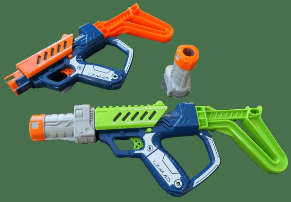 Lazer Mad laserguns